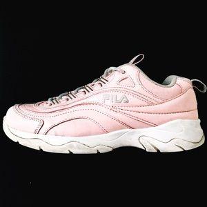 Light Pink FILA Shoes